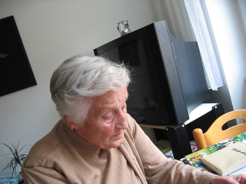 Senioren Einsamkeit